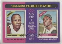 1966-Most Valuable Players (Frank Robinson, Roberto Clemente) [Poorto&nbs…