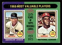 1968-Most Valuable Players (Bob Gibson, Denny McClain) [VG]