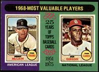 1968-Most Valuable Players (Bob Gibson, Denny McClain) [NM+]