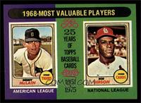 1968-Most Valuable Players (Bob Gibson, Denny McClain) [NMMT]