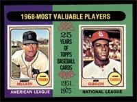 1968-Most Valuable Players (Bob Gibson, Denny McClain) [EXMT]