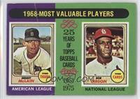 1968-Most Valuable Players (Bob Gibson, Denny McClain) [Poor to Fair]
