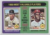 1968-Most Valuable Players (Bob Gibson, Denny McClain) [Good to VG…