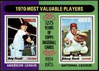 1970-Most Valuable Players (Boog Powell, Johnny Bench) [GD+]
