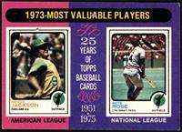 1973-Most Valuable Players (Reggie Jackson, Pete Rose) [FAIR]