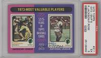 1973-Most Valuable Players (Reggie Jackson, Pete Rose) [PSA5]