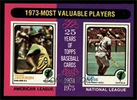 1973-Most Valuable Players (Reggie Jackson, Pete Rose) [NM MT]