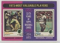1973-Most Valuable Players (Reggie Jackson, Pete Rose) [GoodtoVG&#8…