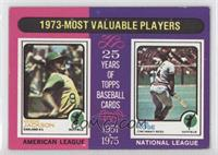 1973-Most Valuable Players (Reggie Jackson, Pete Rose)