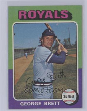 1975 Topps - [Base] #228 - George Brett [Excellent‑Mint]