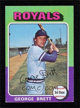 1975 Topps - [Base] #228 - George Brett