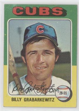 1975 Topps - [Base] #233 - Billy Grabarkewitz