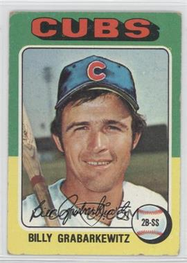1975 Topps - [Base] #233 - Billy Grabarkewitz [Good to VG‑EX]