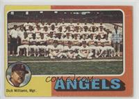 California Angels Team Checklist (Dick Williams) [PoortoFair]