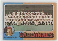 St. Louis Cardinals Team, Red Schoendienst [Poor]
