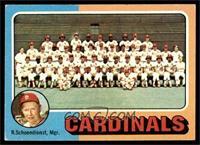 St. Louis Cardinals Team, Red Schoendienst [VGEX]