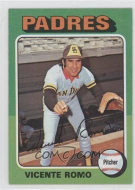 1975 Topps - [Base] #274 - Vicente Romo