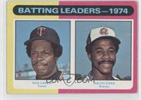 Rod Carew, Ralph Garr [Good to VG‑EX]