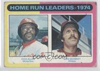 Home Run Leaders - 1974 (Dick Allen, Mike Schmidt) [Altered]