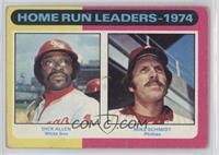 Home Run Leaders - 1974 (Dick Allen, Mike Schmidt) [PoortoFair]