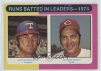 Jeff Burroughs, Johnny Bench