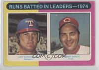 Jeff Burroughs, Johnny Bench [Poor to Fair]