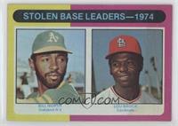 Stolen Base Leaders-1974 (Billy North, Lou Brock) [PoortoFair]