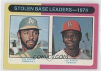 Stolen Base Leaders-1974 (Billy North, Lou Brock) [GoodtoVG‑E…