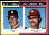 Strikeout Leaders (Nolan Ryan, Steve Carlton) [NM+]