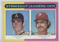 Strikeout Leaders (Nolan Ryan, Steve Carlton) [Poor to Fair]