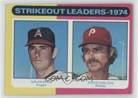 Strikeout Leaders (Nolan Ryan, Steve Carlton) [Noted]