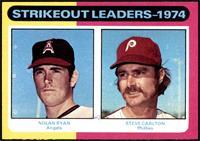 Strikeout Leaders (Nolan Ryan, Steve Carlton) [NM]