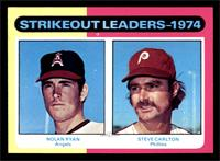 Strikeout Leaders (Nolan Ryan, Steve Carlton) [EX MT]