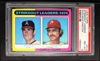 Strikeout Leaders (Nolan Ryan, Steve Carlton) [PSA 8 NM‑MT]