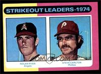 Strikeout Leaders (Nolan Ryan, Steve Carlton) [EX]