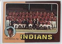 Cleveland Indians Team Checklist (Frank Robinson) [GoodtoVG‑E…