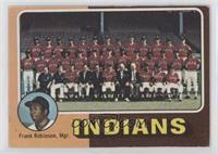 Cleveland Indians Team Checklist (Frank Robinson) [NoneGoodto…