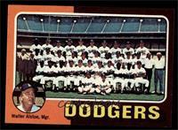 Los Angeles Dodgers Team Checklist (Walter Alston) [NMMT]