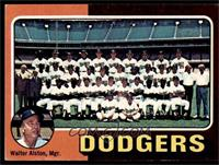 Los Angeles Dodgers Team Checklist (Walter Alston) [VG EX]