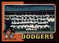 Los Angeles Dodgers Team Checklist (Walter Alston) [EXMT]