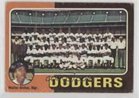 Los Angeles Dodgers Team Checklist (Walter Alston) [GoodtoVG‑…