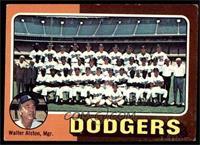 Los Angeles Dodgers Team Checklist (Walter Alston) [VG]