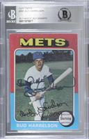 Bud Harrelson [BAS Certified BGS Encased]