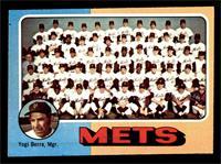 New York Mets Team, Yogi Berra [EX]