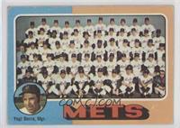 New York Mets Team, Yogi Berra [GoodtoVG‑EX]