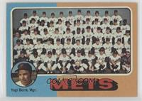 New York Mets Team, Yogi Berra
