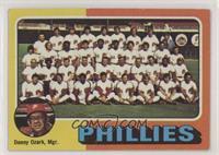 Philadelphia Phillies Team Checklist [NoneGoodtoVG‑EX]