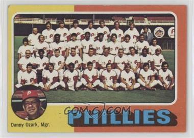 1975 Topps - [Base] #46 - Philadelphia Phillies Team Checklist