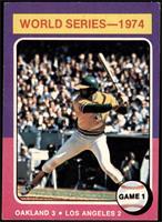 World Series - 1974 - Game 1 [VGEX]
