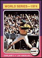 World Series - 1974 - Game 1 [NM+]